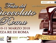 Festa del cioccolato a Piazza Re di Roma