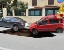 Voragine via Circonvallazione Appia: Aggiornamenti