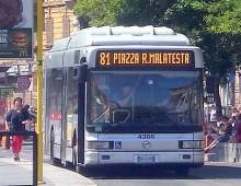 Linea 81: previsto lo spostamento del capolinea a San Giovanni