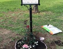 Il piccolo giardino a Piazza Re di Roma dedicato a Pamela