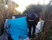 Via Cilicia: sgombrato nuovo insediamento abusivo