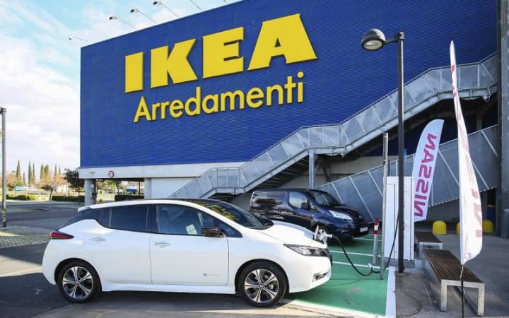 Anagnina Ikea E Nissan Spingono Lauto Elettrica