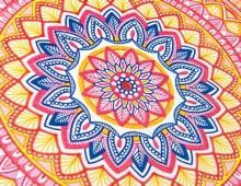Via Terni, colorare i Mandala