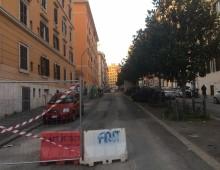 Via Foligno e quell'asfalto posato sulla terra