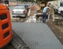 Pup via Imera: ripartono i lavori e la strada è di nuovo un cantiere