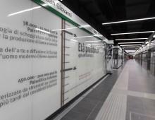 Metro C San Giovanni: ha aperto la stazione museo