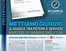 ECampus, via Matera: presentazione libro di Vietti