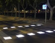 Incrocio Amba Aradam-Porta Metronia, al via lavori per strisce pedonali a led