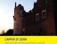 L' Appia Antica di sera
