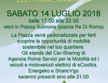 Piazza Sulmona: La Festa della Mobilità Elettrica e Condivisa