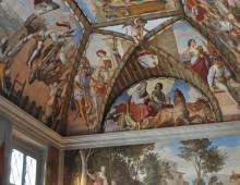 Il Casino Massimo Lancellotti al Laterano: arte e letteratura a confronto