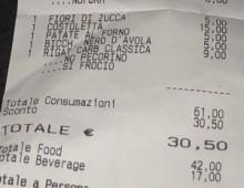 """Polemiche per lo scontrino """"anti-gay"""" a San Giovanni"""