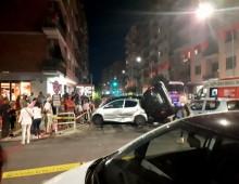 Via Pubblio Valerio: carambola tra auto, due feriti