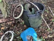 Caffarella: Ada , la volontaria che ogni mattina raccoglie i rifiuti