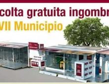 Municipio VII : ricomincia la raccolta gratuita ingombranti