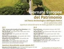Giornate Europee del Patrimonio, le iniziative nel VII Municipio
