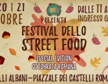 Colli Albani: 3 giorni di festa con lo Street Food