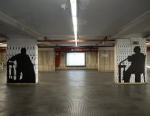 Metro Porta Furba: i murales di Spagnuolo