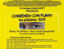 """Parco degli Acquedotti: si rinnova """"Correndo con Flavio"""""""