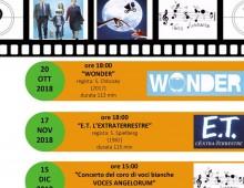 Il Comitato Genitori della scuola A. Manzoni vi invita al cinema