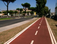 [Video] – Arriva la pista ciclabile su Via Tuscolana