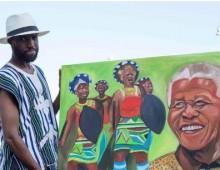 Mostra dell'artista Mokodu Fall su Mandela