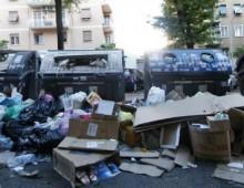 Municipio VII e l'invasione dei rifiuti