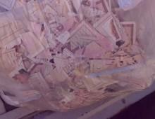 Cinecittà: trovate in un sacco dell'immondizia decine di carte d'identità stracciate