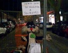L'ironia dei cittadini dell' Appio Latino, malgrado tutto