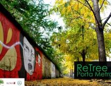 Nasce ReTree Porta Metronia, ripianta gli alberi dove non ci sono più
