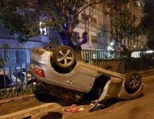 """San Giovanni, si ribalta con l'automobile: tutta colpa del tacco """"12"""""""