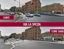 """Virginia Raggi: """"Come cambieranno Largo Brindisi, via La Spezia e via Taranto"""""""