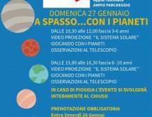 """Parco di Tor Fiscale: """" a spasso …con i pianeti"""""""