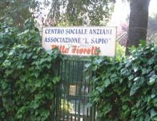 Centro anziani di villa Fiorelli: ultimi giorni per le offerte