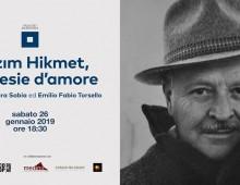 Palazzo Merulana: Nazim Hikmet, le poesie d'amore