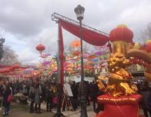 Capodanno cinese a San Giovanni e piazza Vittorio: le immagini