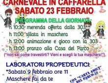 23 febbraio: Carnevale in Caffarella