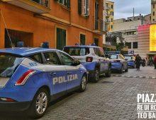 Via Cerveteri: Operazione di polizia all'ingresso del Bingo Re