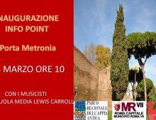 Inaugurazione Info Point a Porta Metronia
