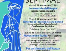"""Teatro Villa Lazzaroni: """"Le memorie dell' Acqua"""""""