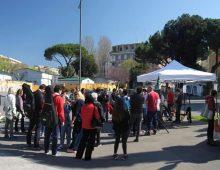 Inaugurazione nuovo info point a Porta Metronia