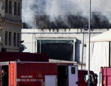 Quadraro: incendio in un palazzo, nessun ferito