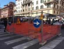 Nuova voragine in via Terni