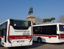 Atac, arrivati i nuovi bus (bianchi)