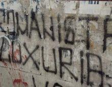 Via Cerveteri: per la scritta omofoba si usa Luxuria