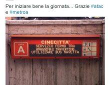 Nuovi disagi Metro A: chiusa stazione Anagnina per guasto