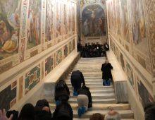Scala Santa: apertura straordinaria e presentazione dei restauri