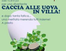 Villa Fiorelli: caccia alle uova