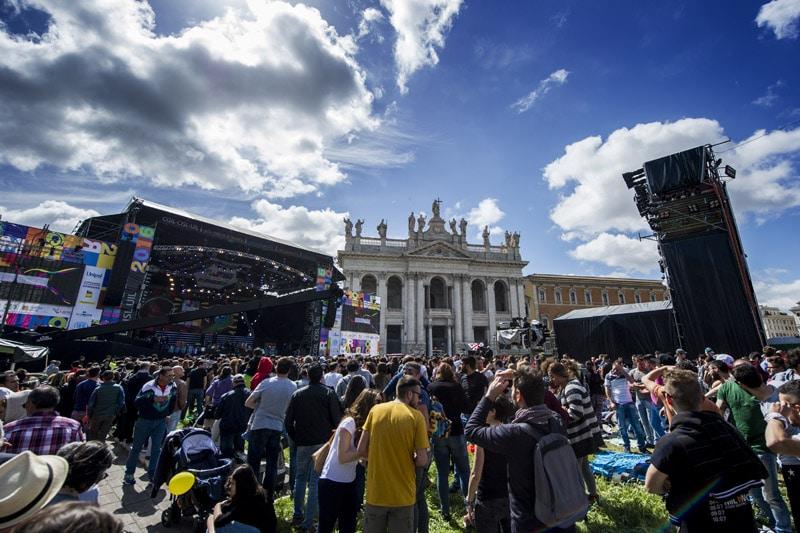 Concertone Primo maggio, grande inizio con l'omaggio a Franco Battiato