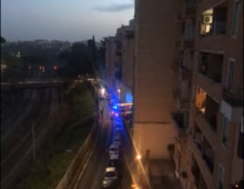 Via Vetulonia: incendio in un appartamento